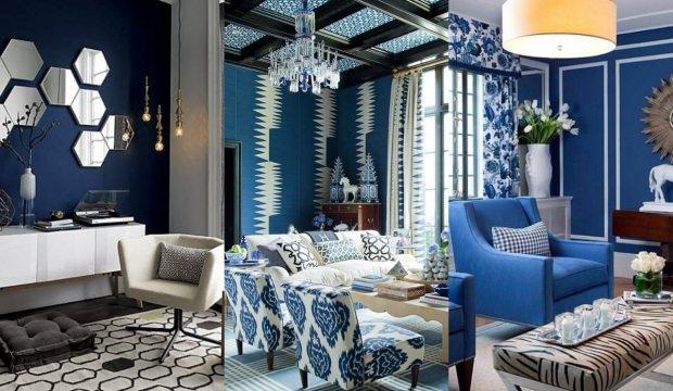 Dekorasyonda bleu blanc trendi