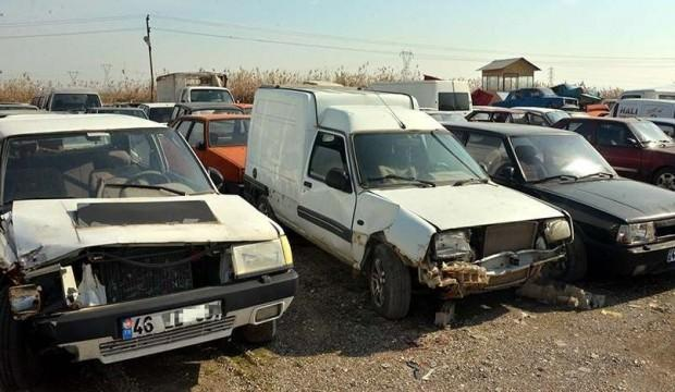 Hurdaya ayrılan araç sayısında büyük artış