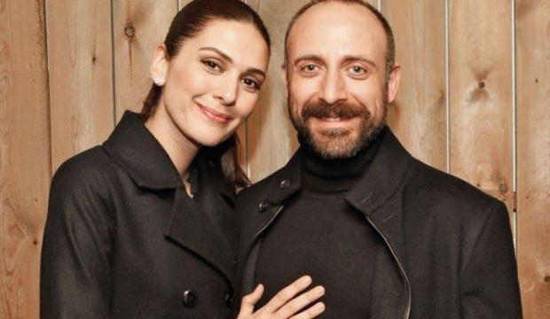 Halit Ergenç- Bergüzar Korel çifti Beyrut'tan çifte ödül aldı
