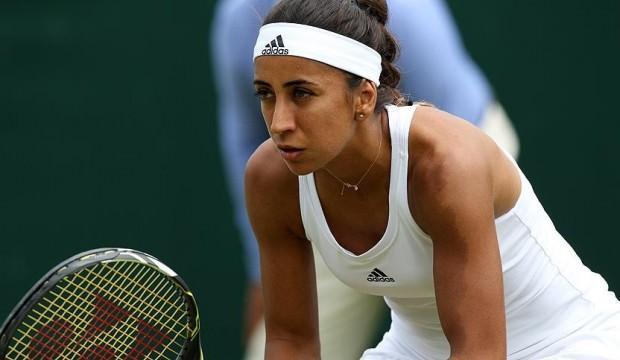 Çağla Büyükakçay Wimbledon'a veda etti