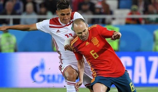 İspanya zor kurtardı!