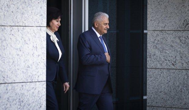 Başbakan Yıldırım'dan Danıştay'a veda ziyareti