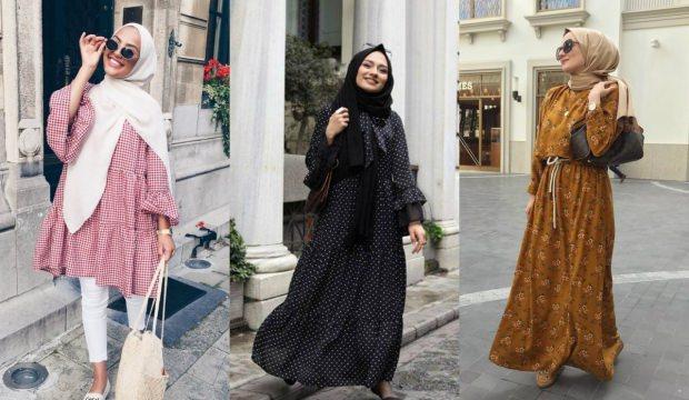 2018 tesettür modasında öne çıkan desenler