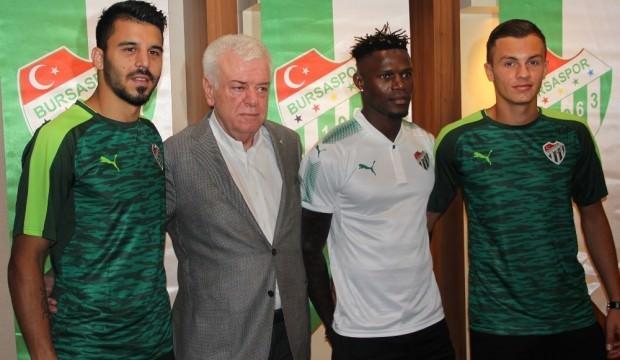 Bursaspor'da 3 imza birden