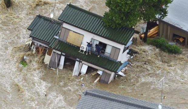 Japonya'da büyük felaket: 50 ölü!