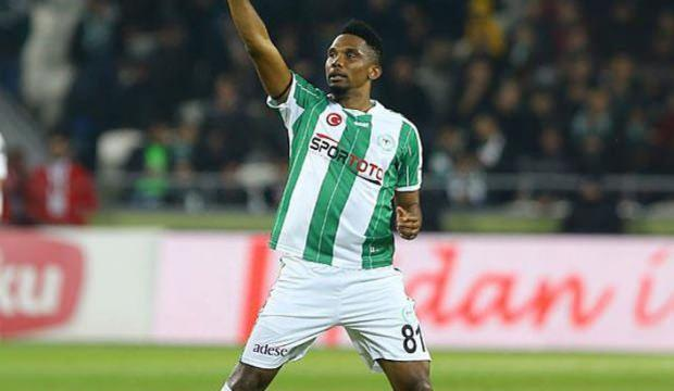 Konyaspor'dan Eto'o kararı!