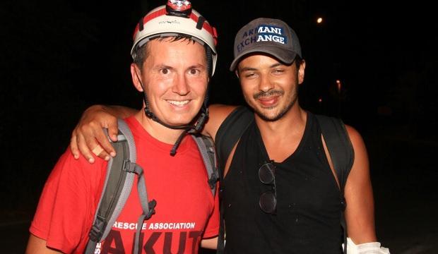 Likya Yolu'nda kaybolan turistleri AKUT ekibi buldu