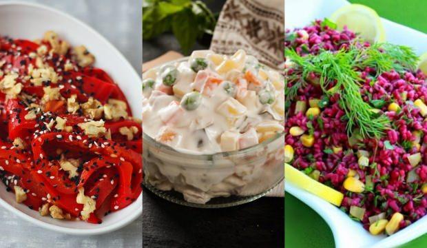 Farklı salata tarifleri