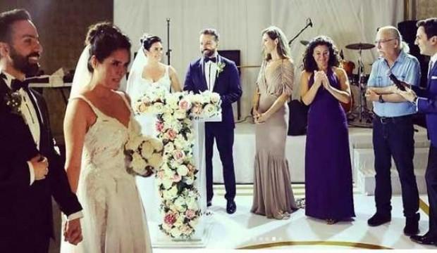 Bengi Öztürk ve Sertaç Akkaya evlendi!