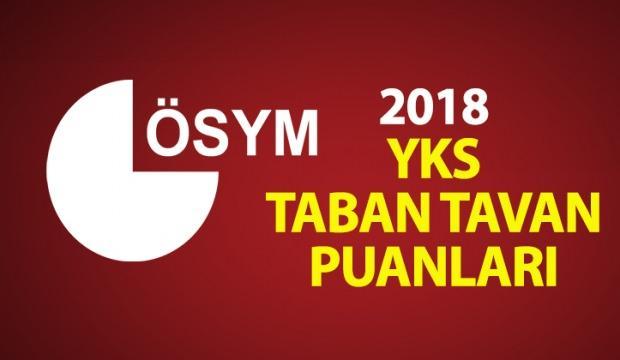 YKS üniversite taban ve tavan puanları! 2018 ÖSYM bölümlerin başarı sıralaması..