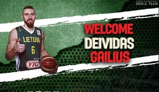 Pınar Karşıyaka'ya Litvanyalı transfer