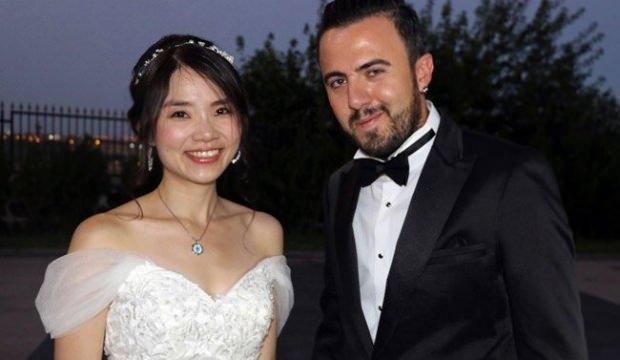 Tayvan'dan Diyarbakır'a gelin gitti