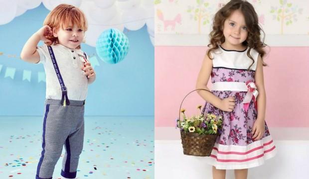 Bebek ve çocuklar için bayramlık kombinler