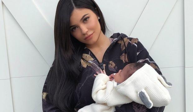 Kylie Jenner'ın bebeği için aldığı çanta şaşırtıyor