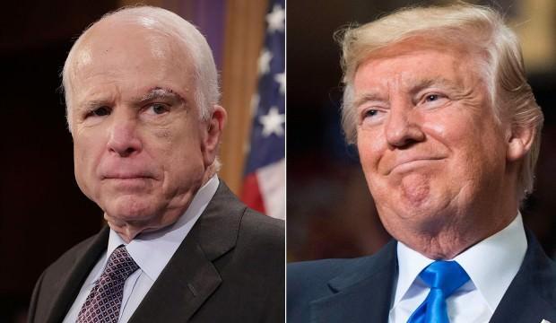 Trump'tan McCain açıklaması: Talimat verdim...