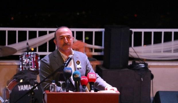 Çavuşoğlu: Bize 'kardeş' ülkeler de saldırdı