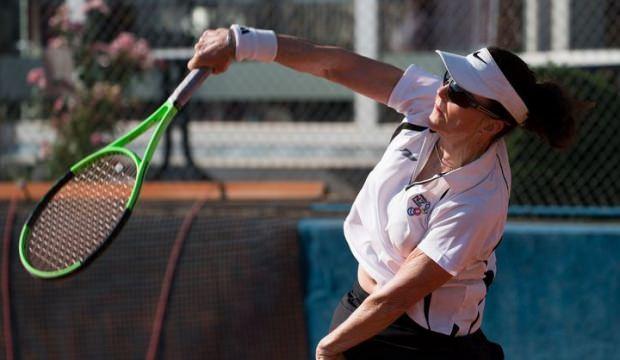 75 yaşında tenis dünya sıralamasında girdi!