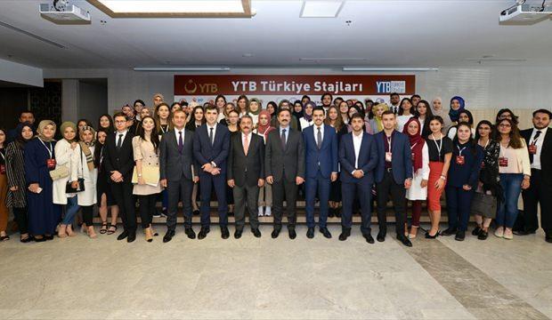 """""""YTB Türkiye Stajları"""" program açılışı Ankara'da yapıldı"""