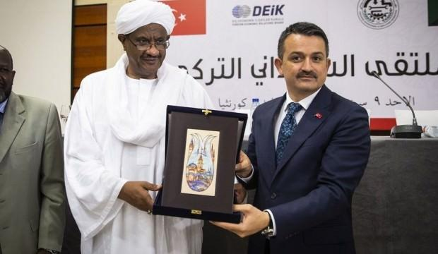 """""""Toprak Sudan'da ancak teknoloji Türkiye'de"""""""