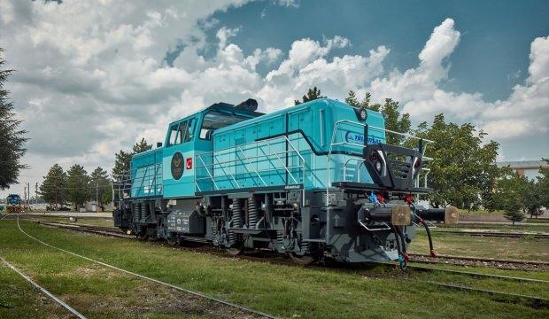 Milli hibrit lokomotif Almanya'da görücüye çıktı