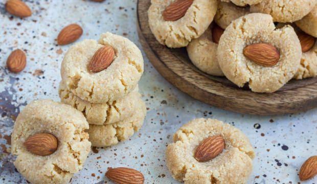 Bademli yulaflı kurabiye tarifi