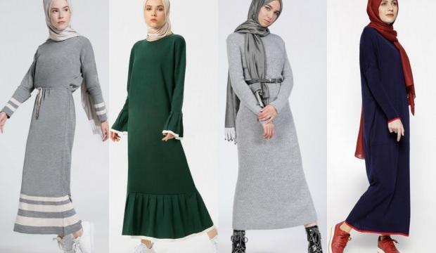 Sezonun en trend triko elbiseleri