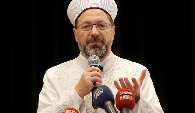 Ali Erbaş'tan net açıklama: Fırsat vermeyeceğiz!