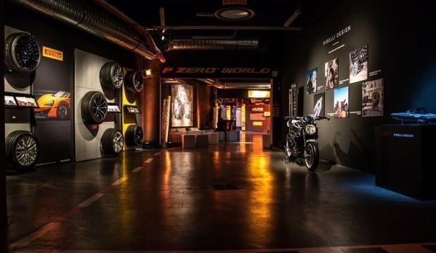Pirelli amiral mağazasının Monte Carlo'da açtı