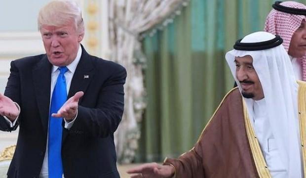 Trump, Kral Selman'ı hedef tahtasına koydu!