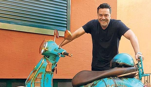 Beyazıt Öztürk kendisine motosiklet yaptırdı