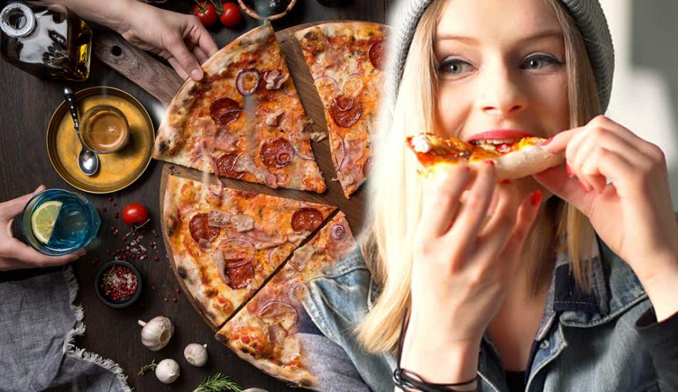 Kilo aldırmayan düşük kalorili pizza tarifi