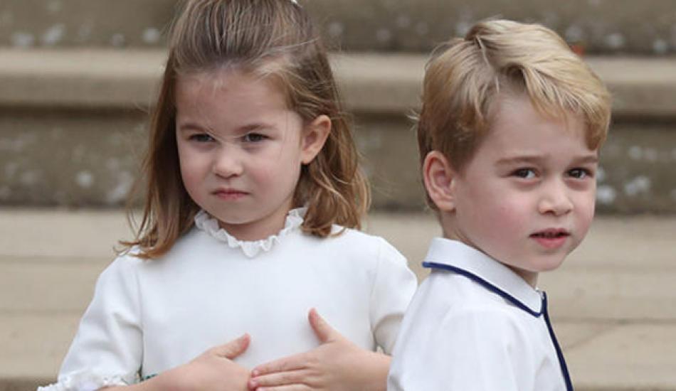 İngiliz basınında en çok konuşulan ikili: Prens George ve Prenses Charlotte