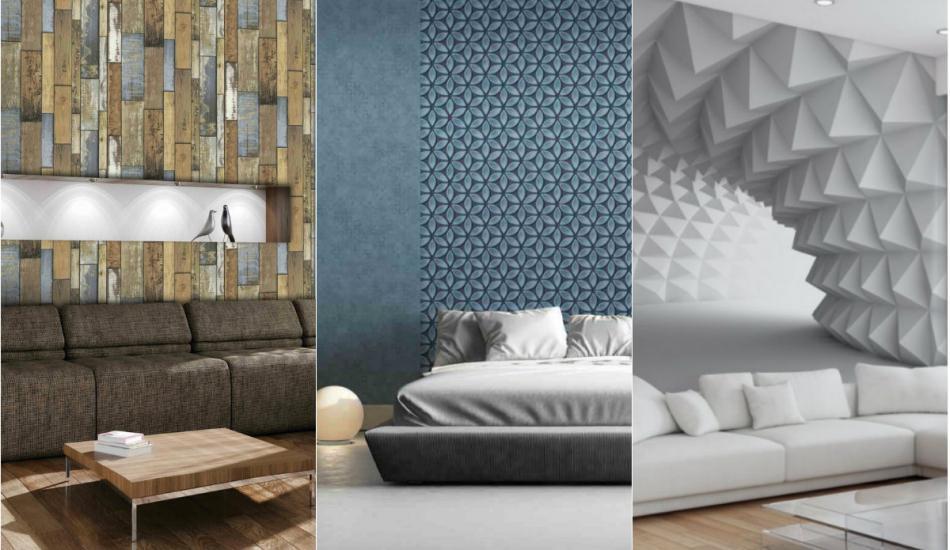 2018-19 üç boyutlu duvar kaplama dekorasyonları