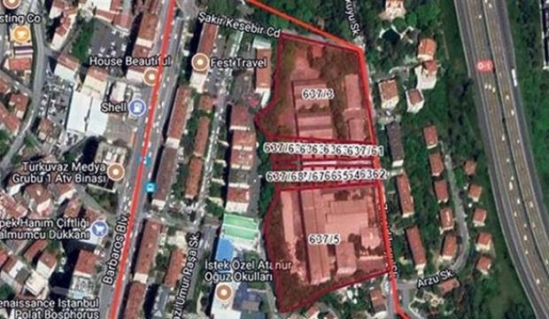 Ünlü arazi satılıyor! 472 milyon lira...