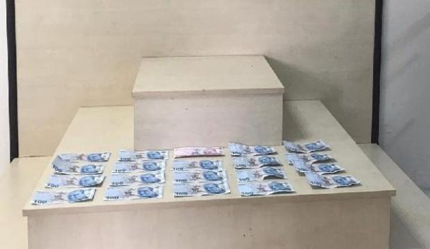Uşak'ta sahte paraya 2 tutuklama