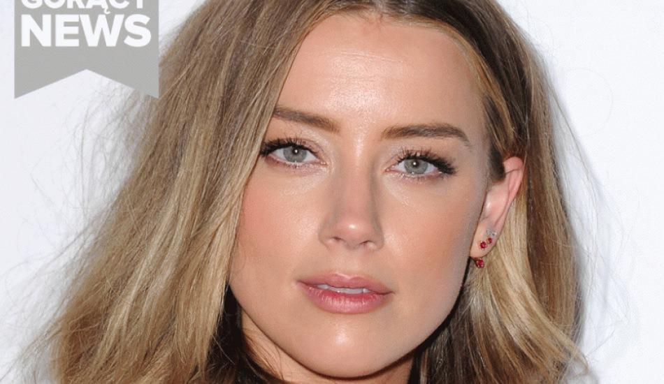 Amerikalı oyuncu Amber Heard yeni filmini tanıttı