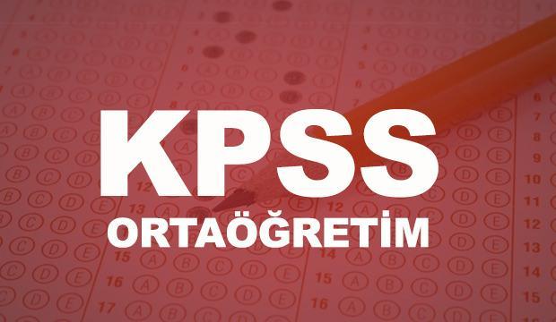 KPSS ortaöğretim sınav sonuçları açıklanmak üzere!