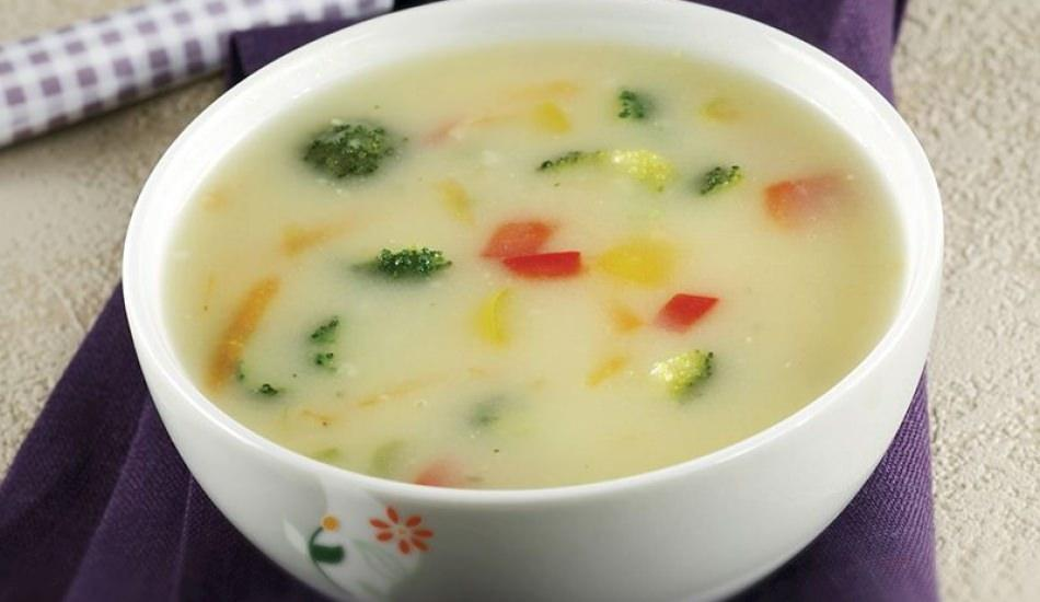 Sebzeli mısır çorbası tarifi