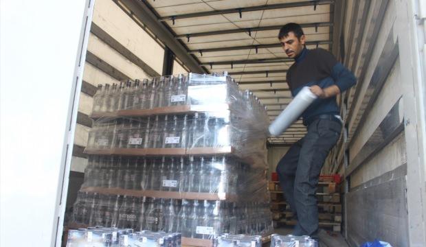 Nevşehir'de çalınan içkiler Adana'da bulundu