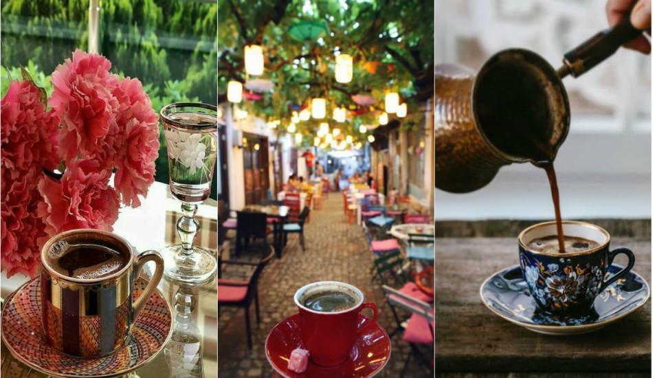 İstanbul'da kahve içilebilecek en güzel yerler