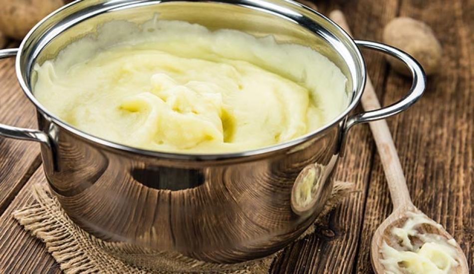 Sütlü patates püresi tarifi