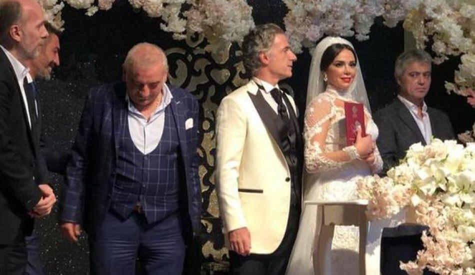 Ünlü çiftin nikah şahitleri Hakan Altun ile Cengiz Kurtoğlu oldu!