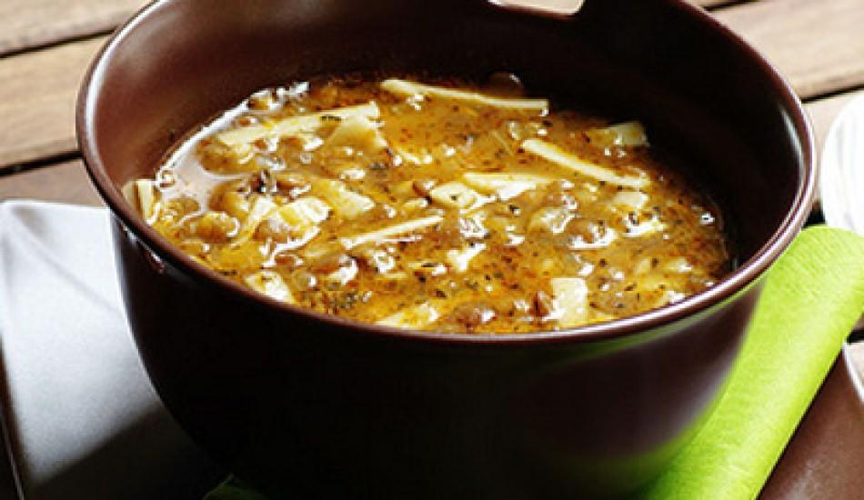 Erişteli çorba tarifi