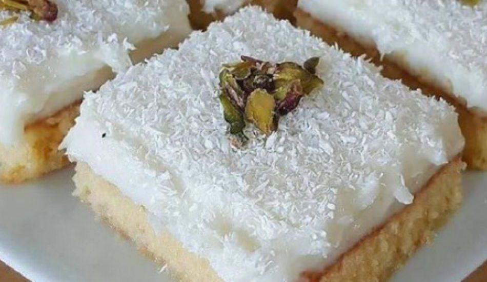 En kolay gelin pastası tarifi! Gelin pastası tatlısı nasıl yapılır?