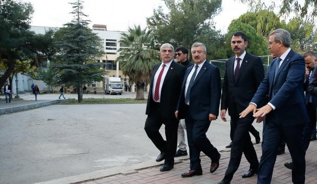 Çevre ve Şehircilik Bakanı Kurum İzmir'de