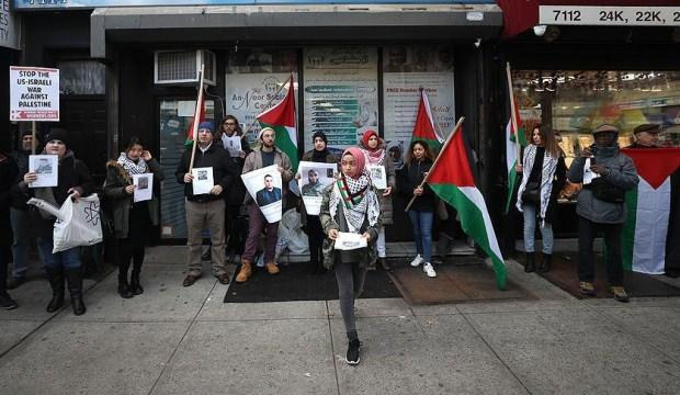 New York'ta Gazze protestosu!