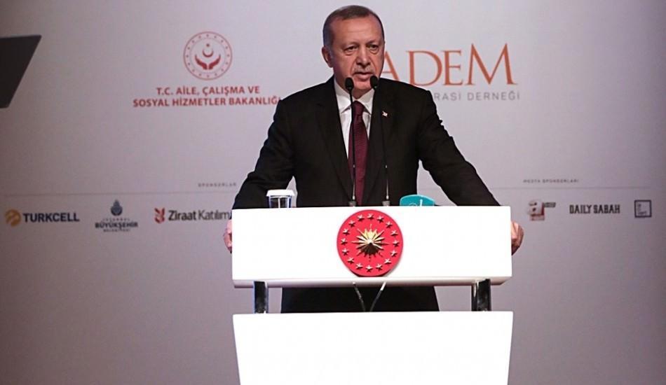 Başkan Erdoğan: Kadın haklarını ihlal edenler en ağır şekilde yargılanacak