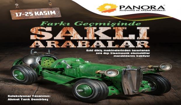 Dikiş makinasının arabalara dönüşümü Panora'da