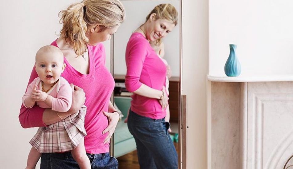 Doğum sonrası göbek en hızlı nasıl eritilir? Göbek sarkması çözümü ve zayıflatan besinler
