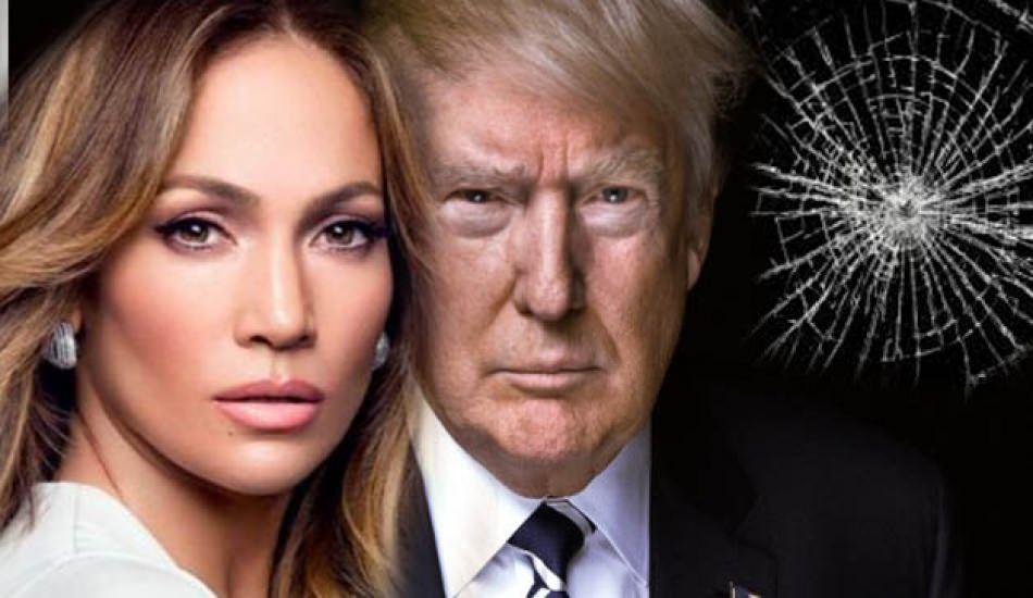Donald Trump'tan sonra sırada Jennifer Lopez!